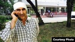 Гражданин Таджикистана Махмадулло Давлатзода, работающий дворником в Москве, 2 сентября 2017 года.