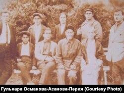 Довоенное фото семьи Перия в Крыму