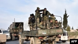 Sirijske trupe, februar 2020