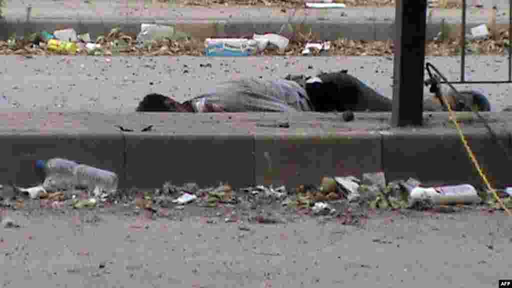 Homs şəhərinin küçələri, 12 iyun
