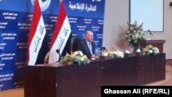 Претседателот на ирачкото собрание Усама ал-Нуџаифи.