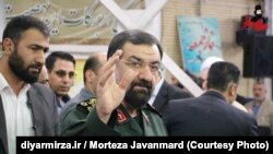 Mohsen Rezaee, currently secretary of the Expediency Discernment Council, and senior military officer in the Islamic Revolutionary Guard Corps.