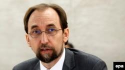 زید رعد الحسین، رییس شورای حقوق بشر سازمان ملل