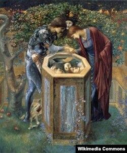 Эдуард Бёрн-Джонс, «Згубная галава» (1885)