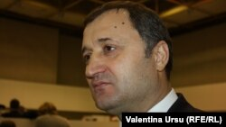 Lithuania, Vilnius / Moldova - Vlad Filat, leader of Liberal Democrat Party