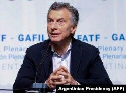 Президент Аргентины Маурисио Макри. С его именем, в частности, связывают антикоррупционную реформу, коснувшуюся и полиции