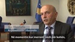 Kryeministri Mustafa paralajmëron zgjedhje