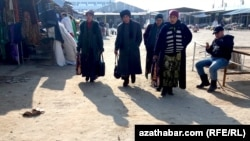 Lebap welaýatynyň Farap etrabynyň bazary, Türkmenistan