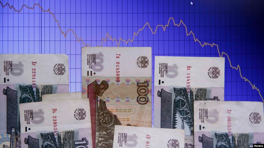 The Russian Ruble Has Lost Around 40 Percent Of Its Value Against The Dollar In The