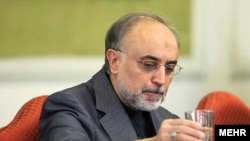 Is Iran's acting Foreign Minister Ali Akbar Salehi going to be around for more than a drink of water?