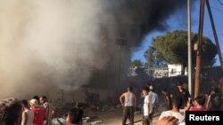 Jeta në kampet e mbipopulluara të migrantëve në Greqi