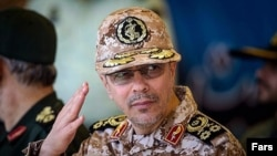 The Iranian Army's chief of staff, Mohammad Hossein Bagheri (file photo)