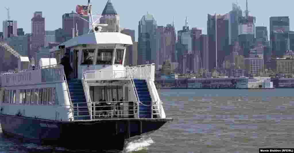 Вид на Манхэттен изНью-Джерси