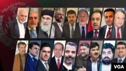 تصاویر نامزدان انتخابات ریاست جمهوری افغانستان