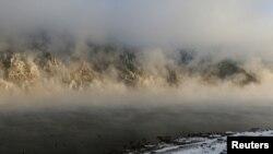 Иллюстрациялык сүрөт. Кырсыкка туман себеп болгону айтылууда.