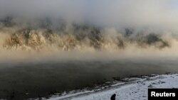 Ռուսաստան, Կրասնոյարսկի երկրամաս, Ենիսեյ գետը, արխիվ