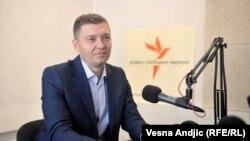 Nebojša Zelenović u beogradskom studiju RSE, jul 2106.