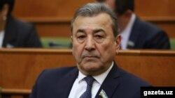 Өзбекстан сенаты төрағасының орынбасары Садық Сафаев.