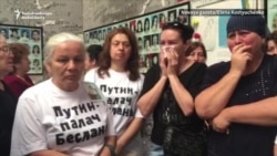 Mothers Of Beslan School Massacre Victims Detained For Protest At Memorial