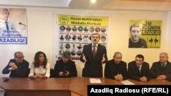 Siyasi Məhbusları Müdafiə Mərkəzinin toplantısı
