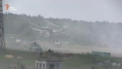 Під Львовом тривають масштабні військові навчання (відео)