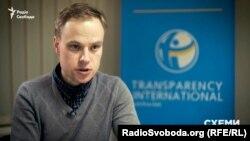 Ярослав Юрчишин, виконавчий директор Transparency International Україна. Його організація разом із трьома іншими звернулася до уряду із закликом звільнити керівництво НАЗК