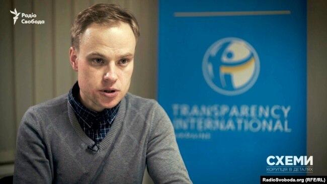 Виконавчий директор «Transparency International Україна» Ярослав Юрчишин