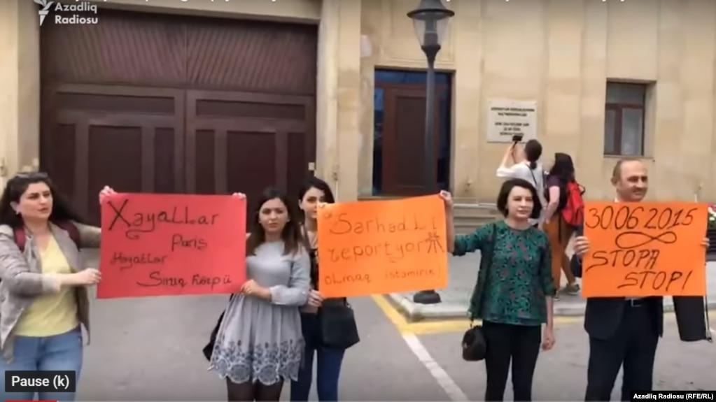 'Media azadlığı: iqtidar jurnalistləri razı, müstəqillər narazı