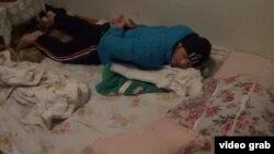 Один из семи задержанных в Екатеринбурге узбекских мигрантов, 6 февраля 2016 года.