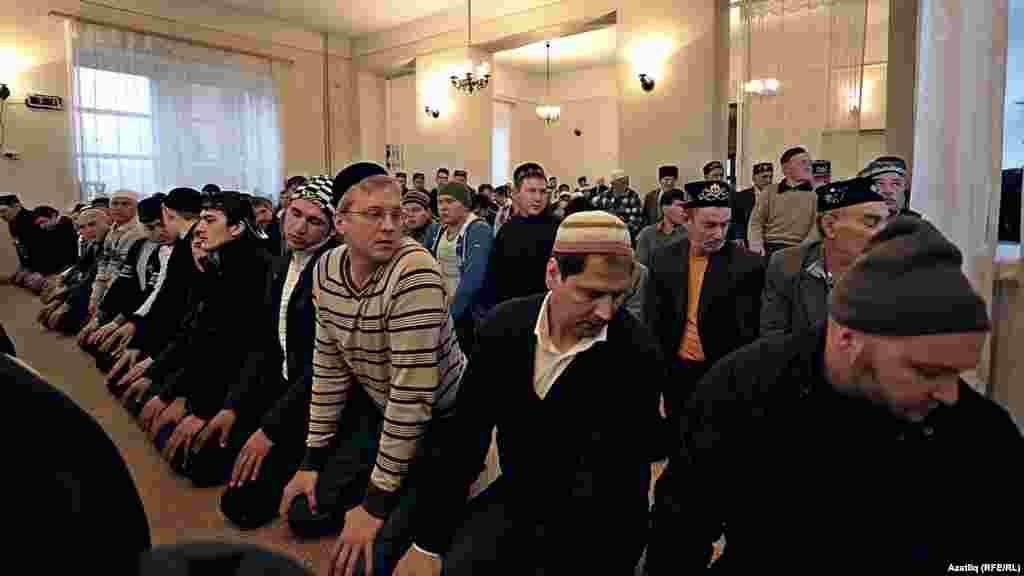 Татарстан. Молитва во время Рамадана
