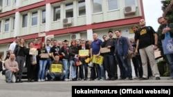 Aktivisti Lokalnog fronta, april 2015, ilustrativna fotografija