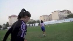Тими занонаи футболи тоҷик пас аз шикаст дар қаҳрамонии Осиё