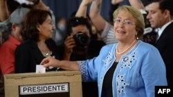 Президент Чили Мишель Бачелет.