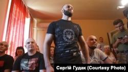 Під час судового розгляду у Мукачеві. 29 травня 2017 року