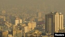 نمایی از شهر تهران