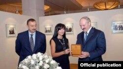 Ільхам Аліеў, Мэхрыбан Аліева, Аляксандар Лукашэнка