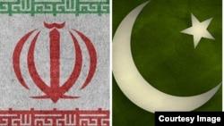 د پاکستان او ایران بیرق.