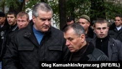 Сергей Аксенов и Владимир Константинов, ноябрь 2014 года