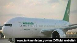 Самолет Туркменских авиалиний («Туркменховаёллары»)