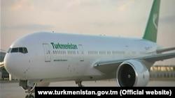 Один из самолётов президента Г.Бурдымухамедова (иллюстративное фото)
