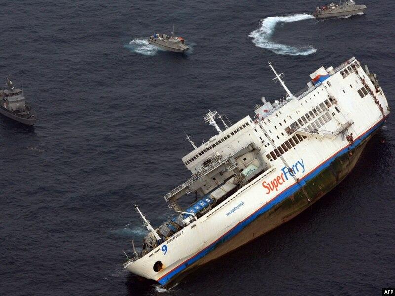 Пассажиры потерпевшего крушение в Гвинее парома, вероятнее всего, погибли