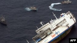 Ferries accidents are common because if overcrowding, poor maintenance, and tropical storms. (file photo)