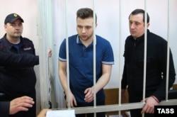 Илья Гущин и Александр Марголин в суде