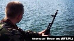 """Borac dobrovoljačkog bataljona """"Azov"""" Valentin"""