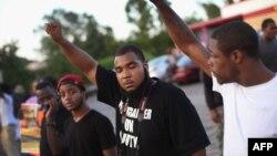 Protestuesit në Ferguson të shtetit Misuri