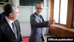 Глава Министерства иностранных дел Германии Хайко Маас