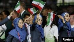 رژه ورزشکاران ایرانی