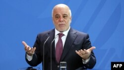 Iraqi Prime Minister Haidar al-Abadi has pledged to retake Mosul by the end of the year. (file photo)