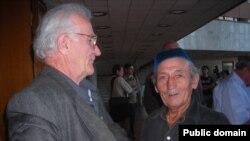 Ветерани національного руху кримських татар Айдер Барієв і Арсен Альчиков