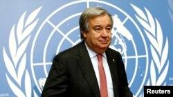 آنتونیو گوترش، دبیر کل سازمان ملل متحد، روز اول فروردین، در پیام خود شعری از ناصرخسرو خوانده است که «آمد بهار و نوبت صحرا شد| وین سال خورده گیتی برنا شد»